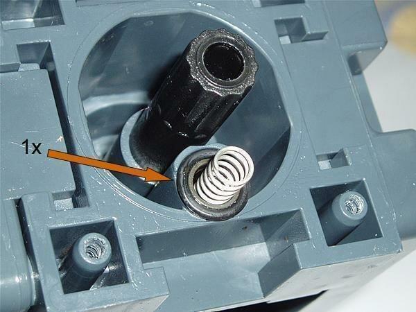 O-Ring 0080-15 EPDM für Cremaventil Brühgruppe Saeco