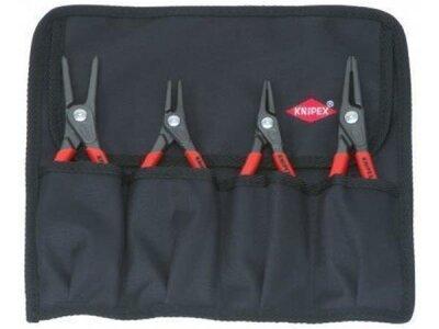Werkzeugtasche Knipex mit 4 Sicherungsringzangen