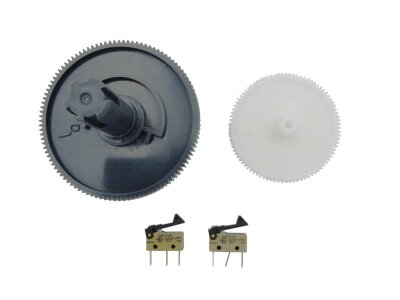 Getriebezahnräder mit Microschalter für Saeco Vienna