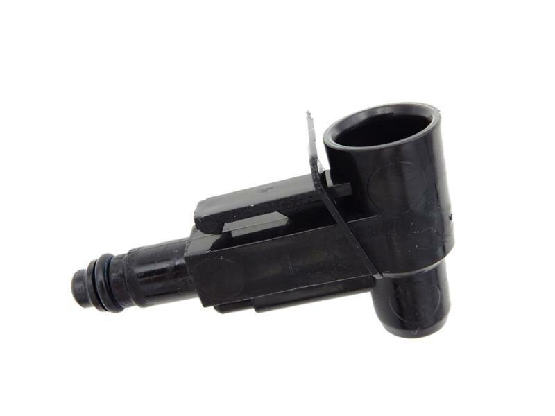 Einlaufstutzen mit O-Ring für Brühgruppe Saeco, schwarz
