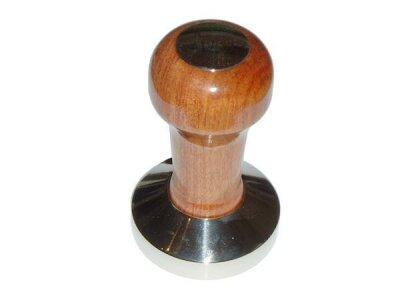 Tamper aus Holz und Edelstahl 57mm