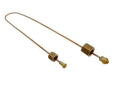 Kapillarrohr 1/8 Zoll - M12x1 zu Kesselmanometer Bezzera